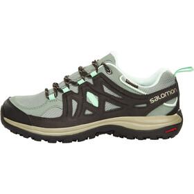 Salomon Ellipse 2 GTX Chaussures de randonnée Femme, light tt/asphalt/jade green